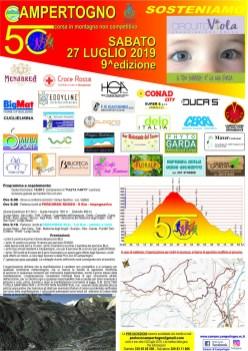 Corsa in montagna 5C a Campertogno 2019