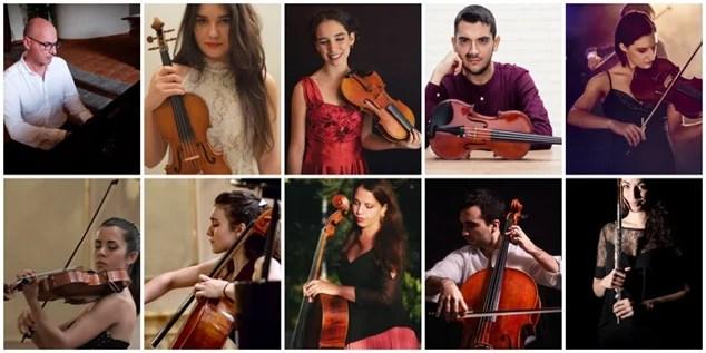 Foto talenti I° Festival Beethoven Varallo