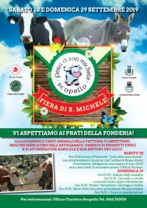 Fiera San Michele Scopello 2019 locandina