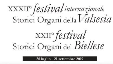 Locandina Festival storici organi della Valsesia 2019