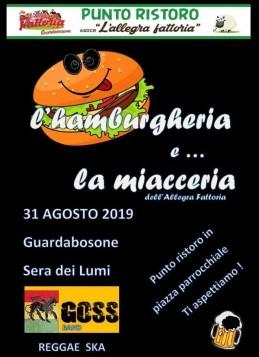 Punto ristoro Guarabosone Allegra fattoria 2019 sera dei lumi