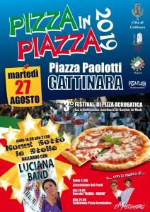 locandina pizza in piazza 2019