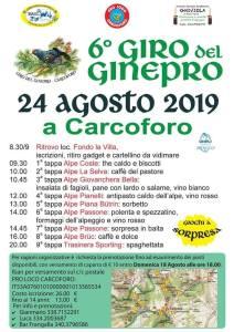 sesto Giro del Ginepro Carcoforo 2019