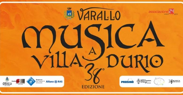 38° Musica a Villa Durio copertina
