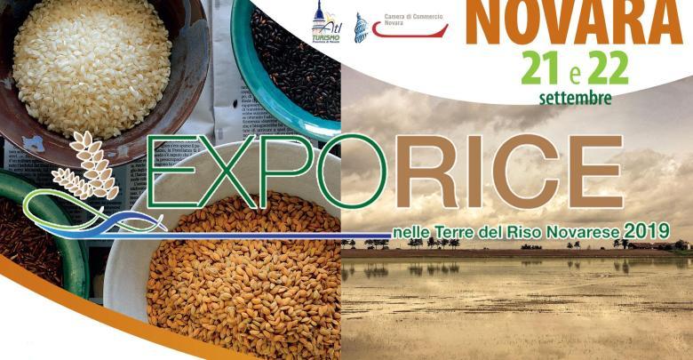 ExpoRice Novara 21 e 22 settembre