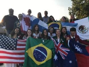foto di gruppo progetto Il mondo a Gattinara 2