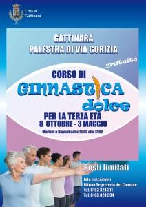 locandina ginnastica dolce Gattinara