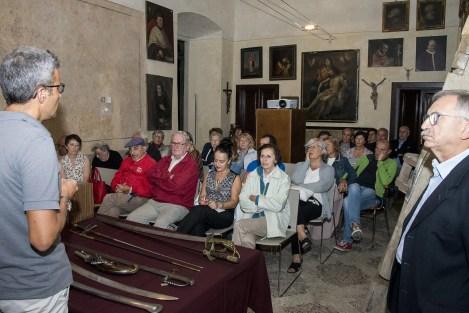 pubblico al museo Piolo serata era Napoleonica