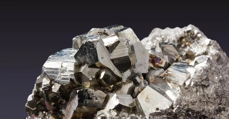 Minerale pyrite credit Pixabay