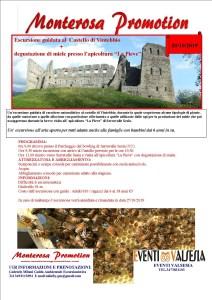Castello di Vintebbio Escursione con Gabriele Milani