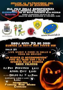 Quarona Halloween night 2019 locandina