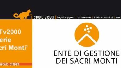 Photo of I Sacri Monti del Piemonte su TV2000