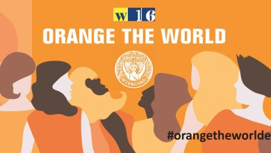 "Photo of Soroptimist Club Valsesia sostiene ""Orange the world"""