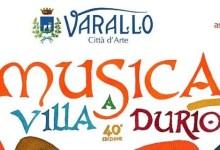 Photo of Varallo: al via la 40^ edizione di Musica a Villa Durio