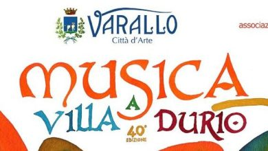 Photo of Varallo: al via la 40^ edizione di Musica a Villa Durio