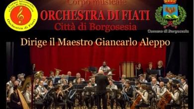 Photo of Borgosesia: sabato 19 settembre concerto dell'Orchestra di fiati