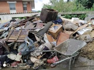 Alluvione 2020 Borgosesia zona Isola