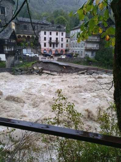 Alluvione 2020 alta Valsesia. Campertogno