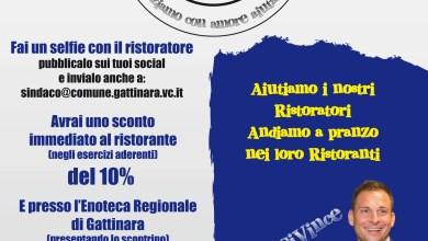 Photo of Gattinara: PranziAmoci, iniziativa in sostegno dei ristoratori locali