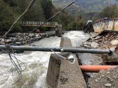 Alluvione 2020 Valsesia. ph. Città di Varallo
