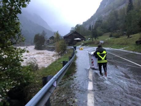 Alluvione 2020 alta Valsesia. ph. Comune di Alagna