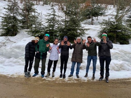 Francesco Surace e il suo team