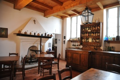 Museo storico etnografico Villa Caccia interno