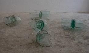 Carlo Dell'Acqua, Oggetti parziali, 2021, oggettisculture in vetro dimensioni ambientali, courtesy of the artist