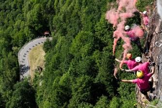 Ferrata Falconera rosa