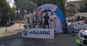 Rally Lana podio 2020