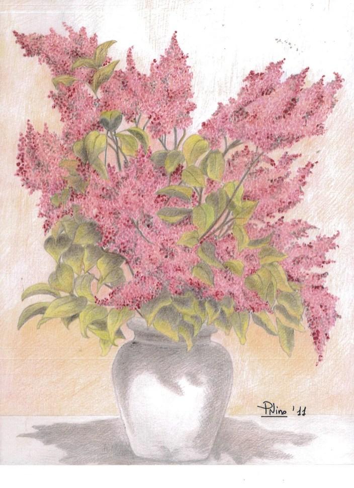Vaso con fiori Patrizia Nino Mortarotti