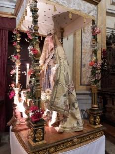 Vergine con manto Campertogno