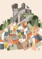 Riccardo Guasco, Castello di Vogogna
