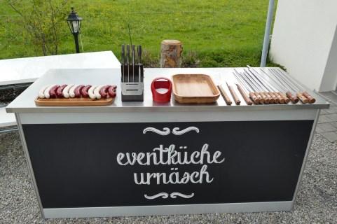 Tramontina Churrasco Schulung in der Eventküche Urnäsch - www.eventkueche.ch