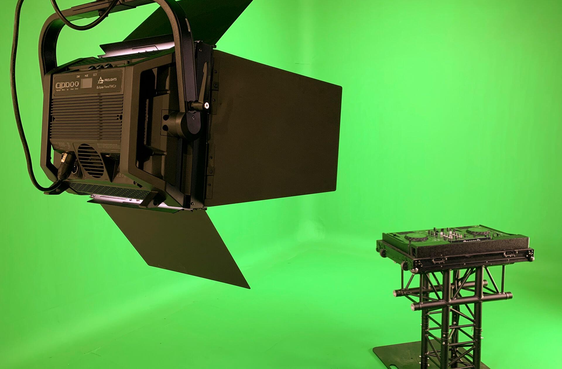 Holo Heroes: inrichting greenscreen studio