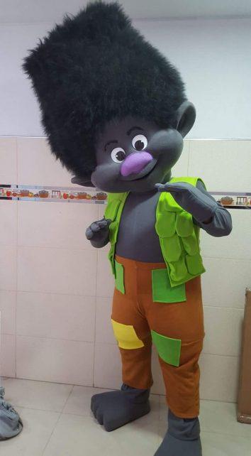 Poppy Troll Event Mascots Costume Hire