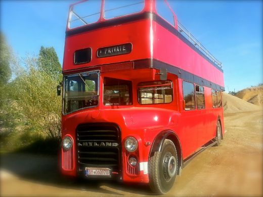 London Bus - Cabrio - Routemaster - Doppeldecker - Eventmobile Online