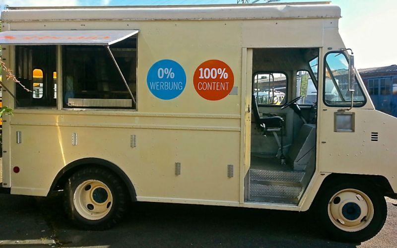 Outbrain Stepvan Promotionfahrzeug Foodtruck Eventmobile Online Köln