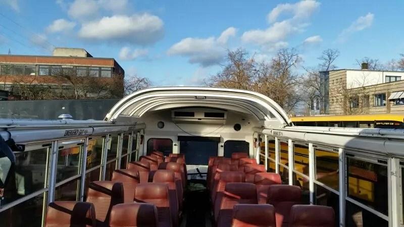 school bus cabrio 40 sitzer eventmobile online k ln. Black Bedroom Furniture Sets. Home Design Ideas
