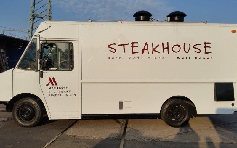 Foodtruck MARRIOT Steakhouse Konzept