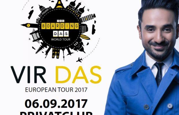 Deutschlandpremiere: Indischer Comedy-Star VIR DAS gibt Debut in Berlin