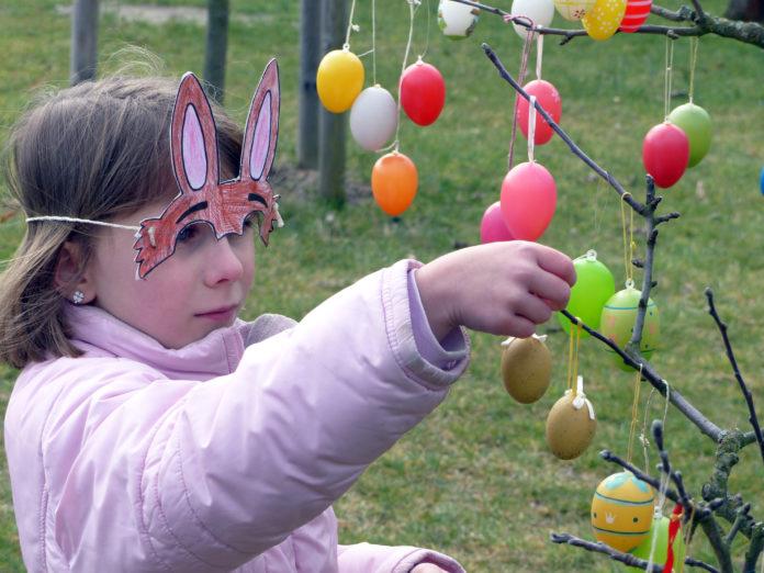 Rund um Ostern im Britzer Garten