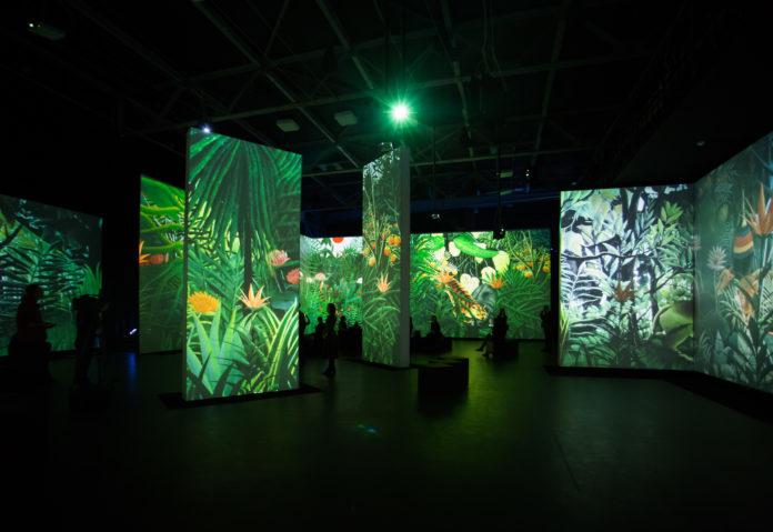 Die neue Multimedia-Ausstellung VON MONET BIS KANDINSKY.VISIONS ALIVE