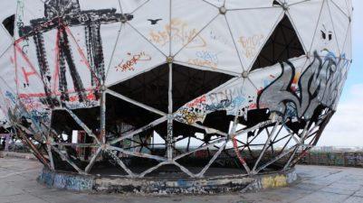 NSA-Abhörstation,#TeufelsbergBerlin,Kunst,Medien,#Berlin,Ausstellung