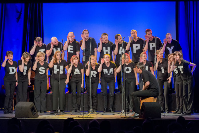 The Happy Disharmonists enCHORe,A-cappella-Bigband,Musik,Konzert,Kultut,Berlin,#VisitBerlin, BAR JEDER VERNUNFT