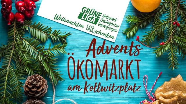 Advents-Ökomarkt ,Kollwitzplatz,Berlin,Freizeit,Unterhaltung,#VisitBerlin, Öko-Weihnachtsmarkt