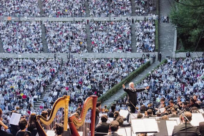 Daniel Barenboim,WestEastern Divan Orchestra,#Musik,Konzert,Freizeit,Unterhaltung,Kultur, Waldbühne ,#VisitBerlin