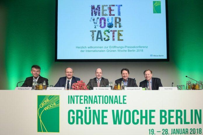 Umwelt, Ernährung, Wirtschaft, #IGW2018, Messen, Lebensmittel, Bild, Agrar, Panorama, Berlin
