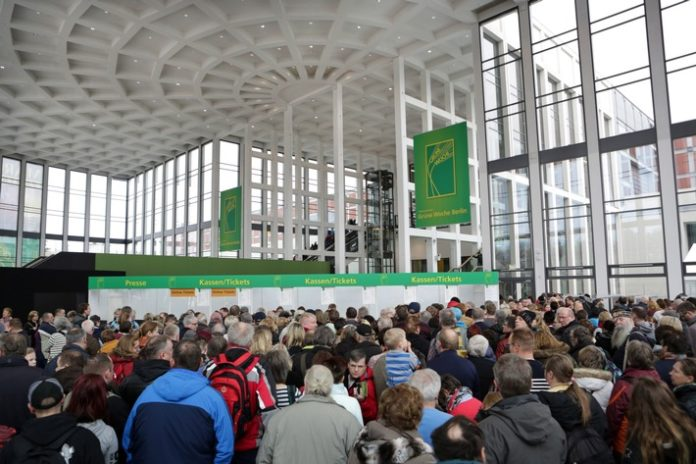 #IGW2018, Wirtschaft, Bild, Hippologica, Messen, Lebensmittel, Medien, EU, Auszeichnung, Tierhaltung, Handel, Messen, Bulgarien, Wirtschaft, Agrar, Berlin