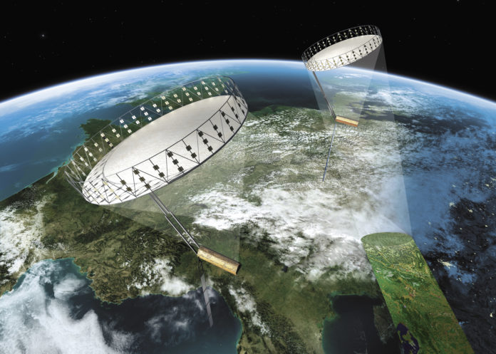 Industrie,ILA2018, Luftverkehr, Astronauts' Day, Elektroluftfahrzeug, ILA, Wirtschaft, Raumfahrt, Bundeswehr, Messen, Technologie, Bild, Flugzeug, Fluggerät, Innovation, ILA Space Day, Luftfahrt, Berlin